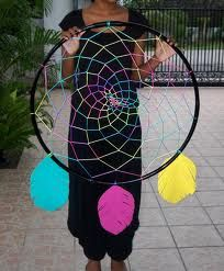hoola hoop dream catchers - Google Search