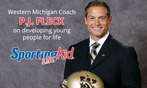 Coaching players, changing lives with Western Michigan University Bronco's coach PJ Fleck