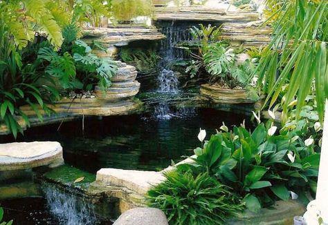 desain kolam ikan rumah minimalis mungil | kolam ikan