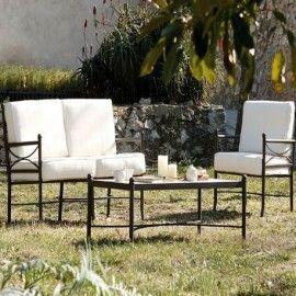 Mobiliario De Forja Para Terraza Y Jardin Coleccion Nilo