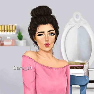 صور بنات كرتون انمى رائعة روز Cartoon Girl Images Digital Art Girl Girly M
