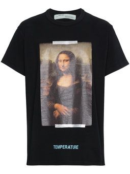 Off White Mona Lisa Print Sweatshirt Farfetch