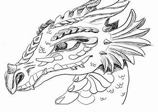 Image result for Water Dragon Coloring Pages Realistic ...