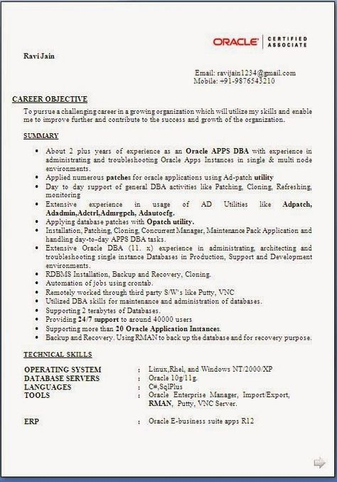 3 year experience resume format  resume format resume