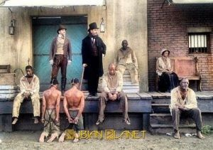 buck-breaking, slave owner sodomy, black African male slaves sodomised