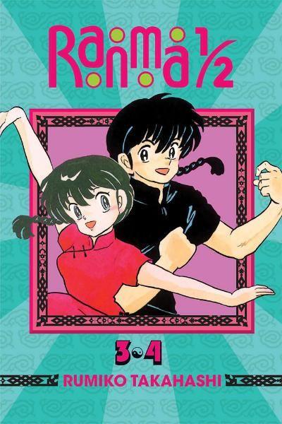 Ranma 1 2 Manga Omnibus 02 Vols 03 04 Ranma Viz Media Martial Artist