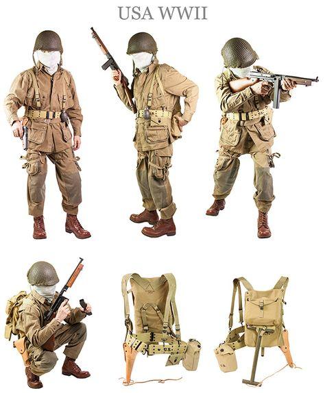 101 Airborne   http://www.militaria.it/abbigliamento_militare.asp?scat=37=6860=WWII%20AirBorne=Kit%20101esima