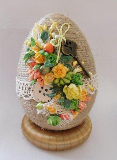 Piekne Jajko Pisanka Ozdoby Wielkanocne Rekodzielo 7165947305 Oficjalne Archiwum Allegro Easter Crafts Crafts Diy And Crafts