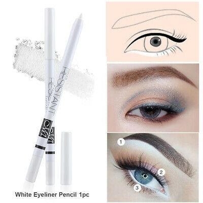 Tools Smudge Proof Profile White Eyeliner Pencil Cosmetic Charming Eye Makeup Simpleeyeliner Eye Makeup Cosmetics Simple Eyeliner White Eyeliner