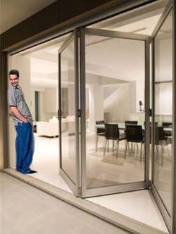 ventanas de aluminio plegables - 3 paneles!