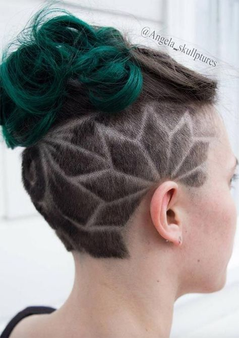 Photo of 54 Badass Undercut Hair Tattoos für Frauen in der Liebe mit Hair Art – Neueste frisuren | bob frisur