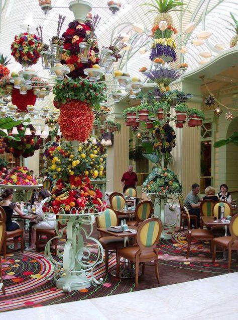 Breakfast Buffet at the Wynn. Las Vegas, we'll be sat here as Mr & Mrs