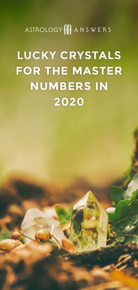 Combine the powers of crystals and numerology with these crystals for the Master Numbers 11, 22, and 33. #crystals #crystalsnumerology #numerology #masternumbers #crystalsformasternumbers
