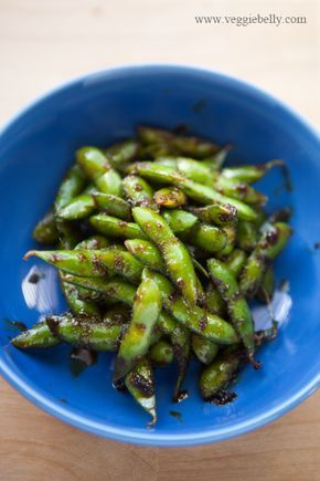 Ginger Soy Glazed Edamame 1 Cup Frozen Edamame With Shell 1 1 2