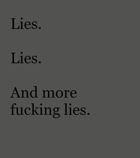 When you are caught, you just continue to lie & lie & lie. It must be exhausting to be such a liar! If you put that much energy is being a good person, imagine who you might me ?