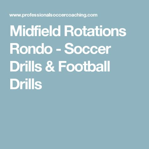 List of Pinterest rondo soccer images & rondo soccer pictures