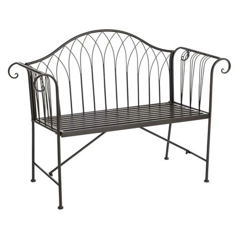 Superb Wilko Country Metal Garden Bench Outdoor Furniture Garden Gmtry Best Dining Table And Chair Ideas Images Gmtryco