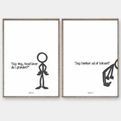Stickmen - Kreativ plakat