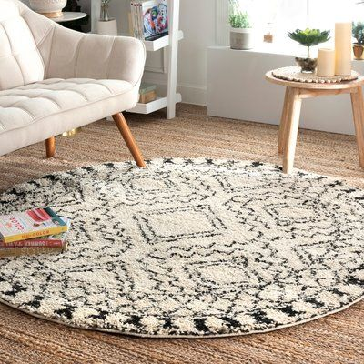 Union Rustic Lederer Off White Area Rug Rug Size Rectangle 6 7 X 9 In 2020 Area Rugs White Area Rug Beige Area Rugs