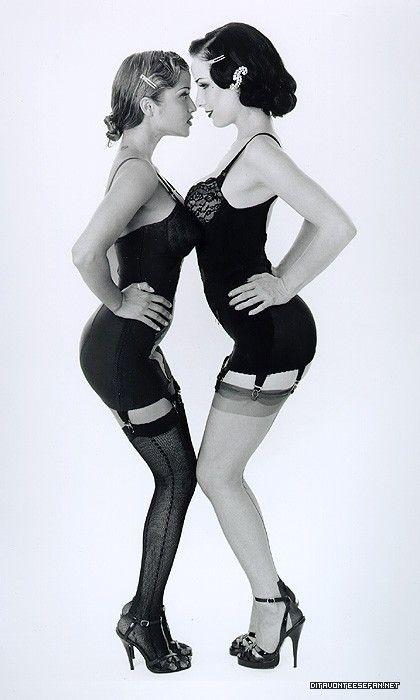 Dita von teese lesbian