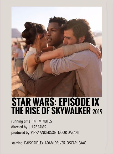 The rise of skywalker by Millie