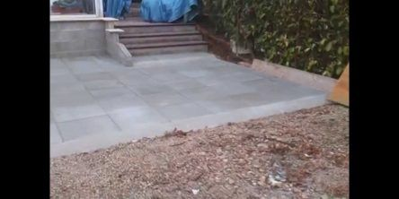Terrasse En Dalle Bton Sur Lit De Sable Youtube Créatif Pose