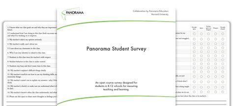 Panorama Student Survey  Panorama Education  Education Stuff