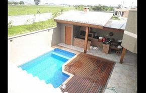 Espaco Do Churrasco Com Deck Area De Lazer Com Churrasqueira