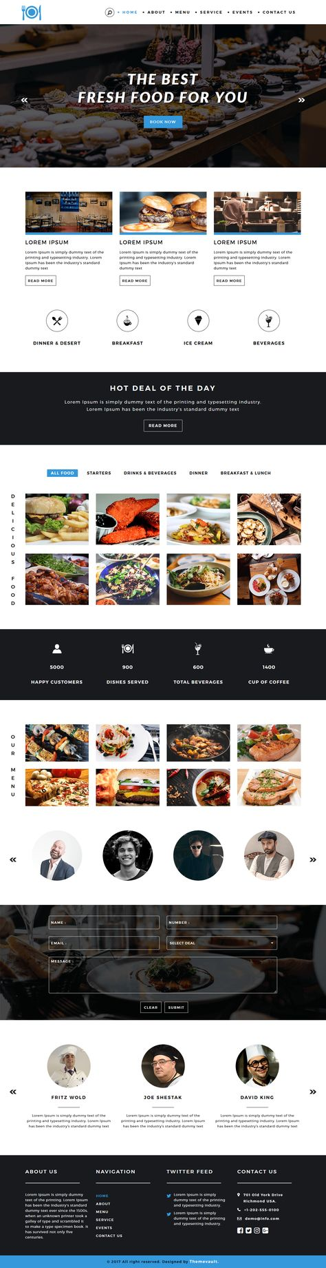 Free html5 responsive web template for Hotel & Resort website ...