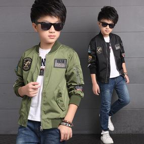 Children's Spring And Autumn Clothes Children's Zipper Outerwear Labeled Outerwear  Boys'Jackets Clothes From 3 To 15…   Boy fashion, Boys dress outfits, Boy  outfits