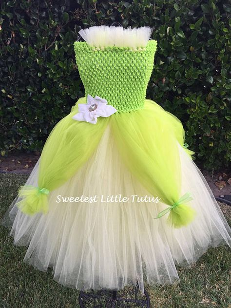 af127483398   Please read my shop announcements before placing any orders to see  current turnaround time!   This Princess Tiana tutu dress is perfect for  any little ...