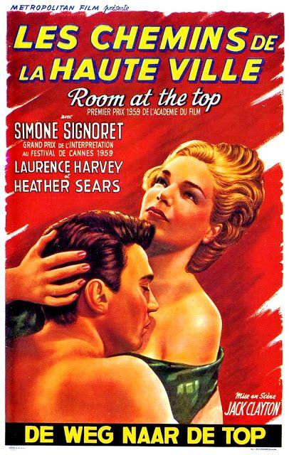 Carteles Del Cinema Un Lugar En La Cumbre Room At The Top 1959 De Jack Clayton Carteles De Cine Cartel Historia Del Cine