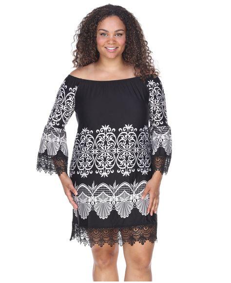 White Mark Women S Plus Size Alta Dress Reviews Dresses