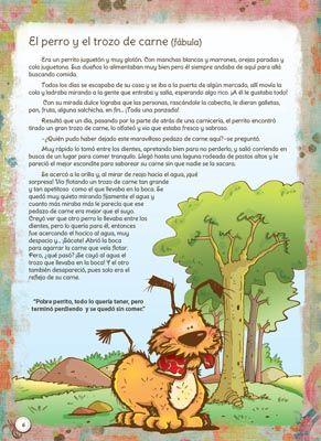 Fábulas Y Leyendas N 1 Ediba Com Lecciones De Lectura Lectura Cortas Para Niños Cuentos Cortos Para Imprimir