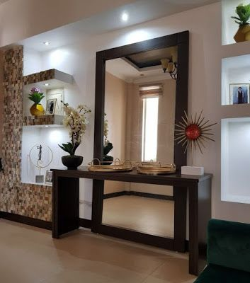 40 Modern Wall Mirror Design Ideas For Home Wall Decor 2019 Mirror Design Wall Home Entrance Decor Hallway Decorating
