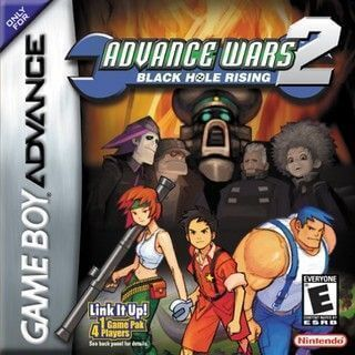 Advance Wars 2 Black Hole Rising Ntsc Pal Ing Esp Gba Game Pc Rip Consolas Videojuegos Juegos Retro Advance Wars