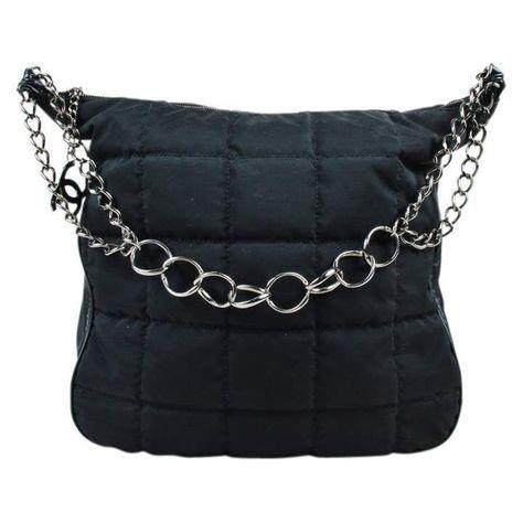 b1b89456c95c Chanel Cloth handbag | Chanel handbags in 2018 | Pinterest | Chanel ...