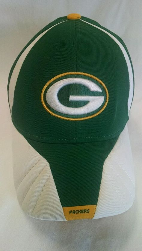 Green Bay Packers Hat Cap Authentic Sideline Flex Fit One Size Reebok  NFL   GreenBayPackers 3c4426ab1