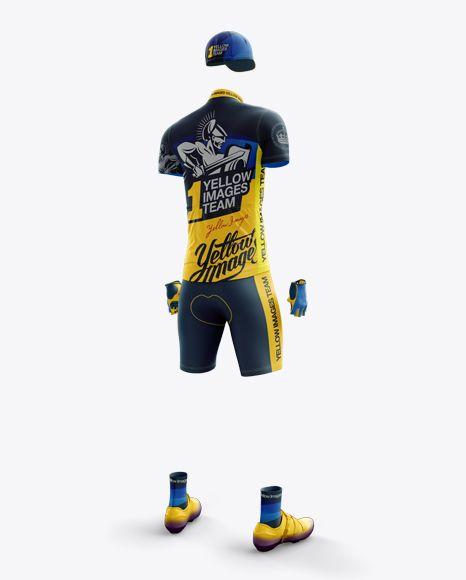 Download Men S Full Cycling Kit Mockup Hero Back Shot In Apparel Mockups On Yellow Images Object Mockups Clothing Mockup Cool Sleeves Shirt Mockup