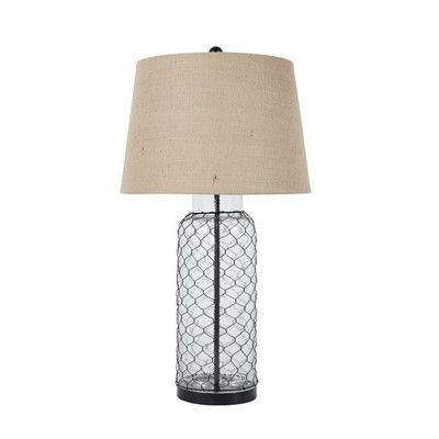 """Signature Design by Ashley 30.75"""" H Table Lamp with Empire Shade"""