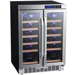 Buy The Edgestar Cwr362fd Stainless Steel Direct Shop For The Edgestar Cwr362fd Stainless Steel 24 Inch Wid Built In Wine Cooler Wine Refrigerator Wine Cooler