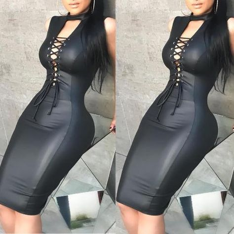 1 x Sexy Bodycon Dress.