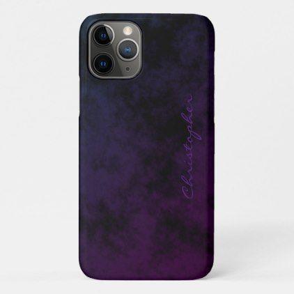 Simple Signature Word Iphone 11 Pro Case Iphone Iphone 11
