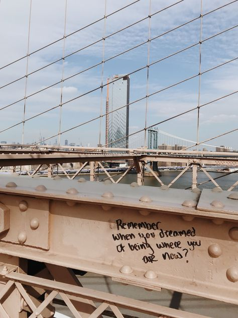 Winter in New York | Brooklyn Bridge | inspiring graffiti | NYC | New York | Mary O Photography | California Photographer | Bay Area Photographer | San Jose Photographer | Mary O Photography | maryophoto.com