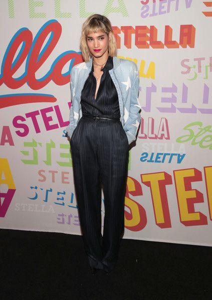 Sofia Boutella attends Stella McCartney's Autumn 2018 Collection Launch.