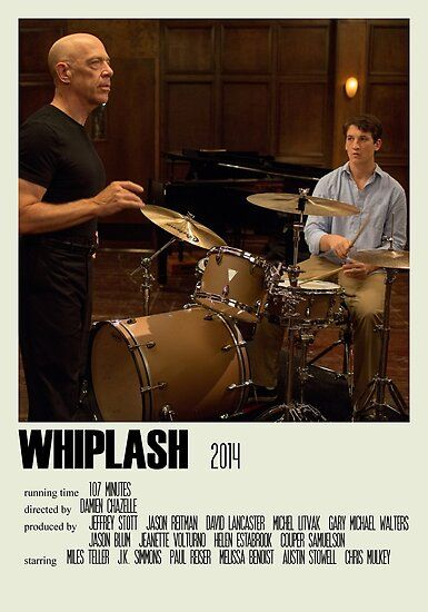 'Whiplash Alternative Poster Art Movie Large (2)' Poster by DesignsByElle