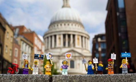 Lego told 'everything is not awesome' in viral Greenpeace video | Adam Vaughan