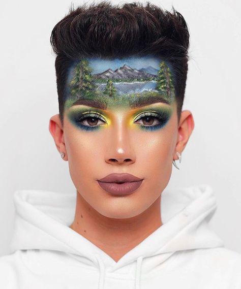 Sister SLAY! 😍 @jamescharles recreating a Bob Ross painting is a masterpiece we didn't know we needed 🔥