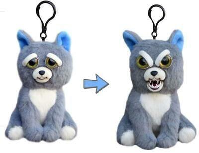 Details About Feisty Pets 4 Plush Keychain Sammy Suckerpunch Dog
