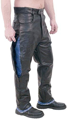 Amazing Offer On Jamin Leather Unisex Premium Leather Motorcycle Overpants Mp506 Online Mens Leather Pants Dolce Gabbana Man Mens Big Tall